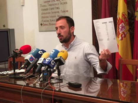 """El concejal de Empresas Públicas denuncia pérdidas de más de 60.000 euros en Limusa, """"herencia de la mala gestión del anterior equipo de Gobierno"""""""