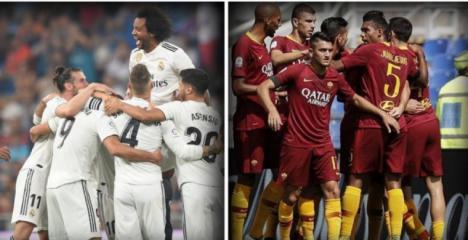 El Madrid vapulea a la Roma
