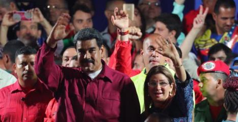 Nicolás Maduro se impone con una participación del 46%