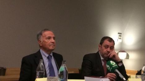 El presidente de Manos Limpias Miguel Bernad, da a entender que personas cercanas a la Corona, le tendieron una trampa