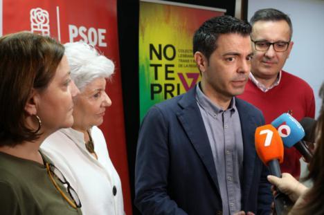"""Marcos Ros: """"Asumo el cargo de eurodiputado con mucha ilusión y responsabilidad y con el compromiso de trabajar por la Región"""""""
