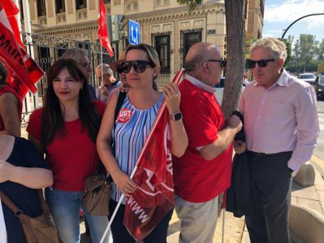 """Marisol Sánchez Jódar: """"El PSOE es la garantía del poder adquisitivo de las pensiones"""""""