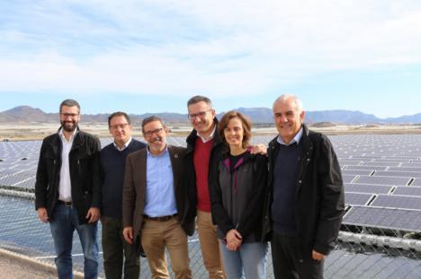 """Diego Conesa: """"La desaladora de Mazarrón es una demostración más de que se puede compaginar el desarrollo agrícola con la sostenibilidad energética y el recurso agua"""""""