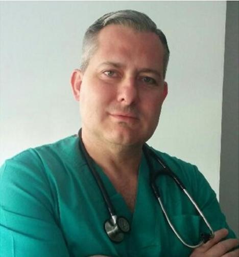 Agustín, médico del 112: