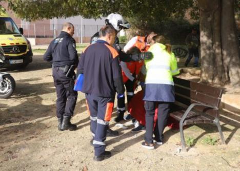 Nuevo ataque contra una mujer: Un hombre le prende fuego en un parque infantil de Palma de Mallorca.
