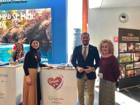 Lorca se promociona en la 15 edición de la Feria Internacional de Turismo NAVARTUR que se celebra del 21 al 23 de Febrero en Pamplona