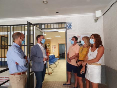El Ayuntamiento de Lorca culmina la adaptación de los consultorios de las pedanías cumpliendo las indicaciones de la Consejería de Salud con una inversión de 76.000 euros