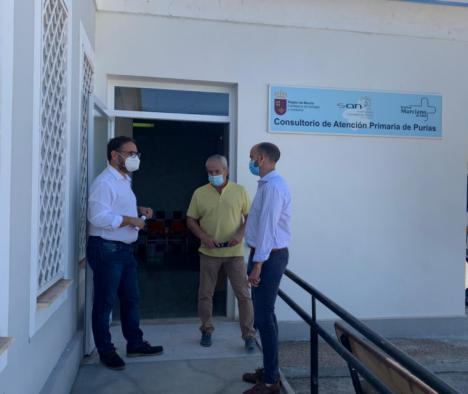 El Ayuntamiento de Lorca finaliza las obras del consultorio médico de Purias tras una inversión municipal de 25.784,72 euros
