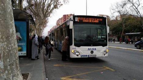 El Gobierno de España reparte 3,7 millones de euros entre siete ayuntamientos de la Región de Murcia para compensar la reducción de ingresos del transporte público por la Covid 19