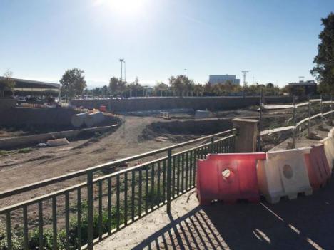Esta próxima semana se reanudarán las obras del tramo 2 de la ronda central paralizadas desde noviembre del año pasado