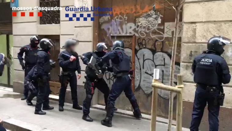 Nueva operación policial contra narcopisos en Barcelona