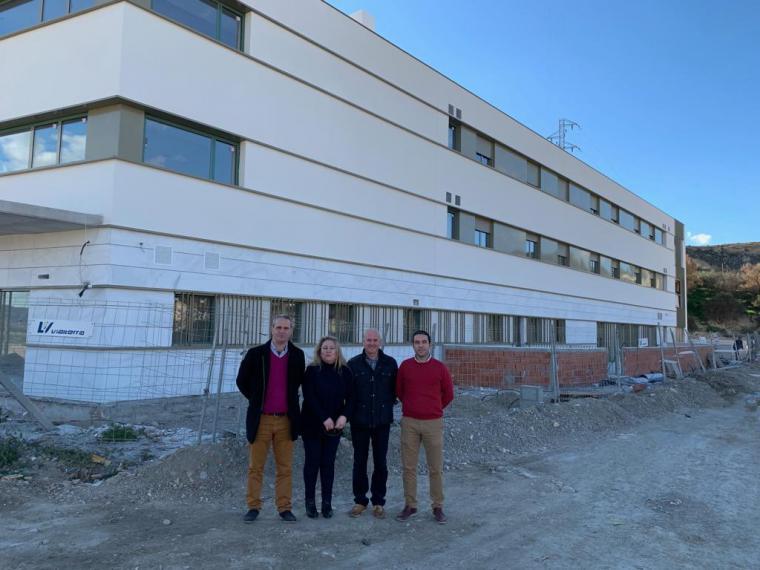 El PSOE muestra su satisfacción por las obras de la residencia de personas mayores de Albox que impulsó este partido