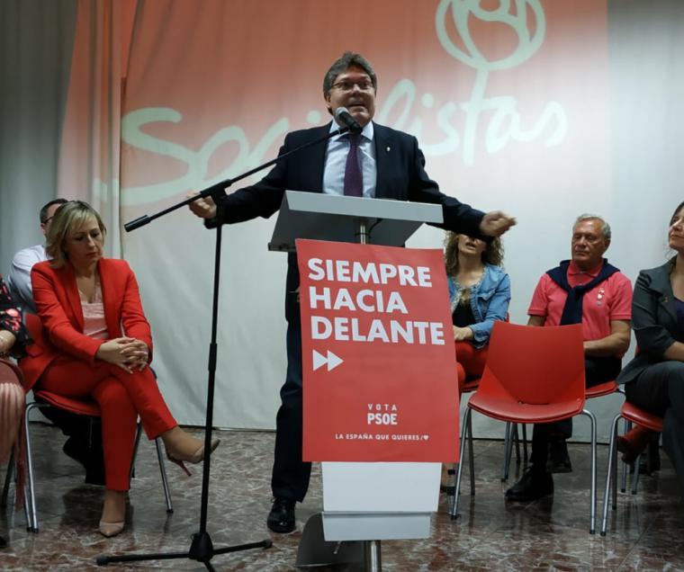 Multitudinario acto del PSOE de Rogelio Mena en la presentación de la Candidatura de Albox