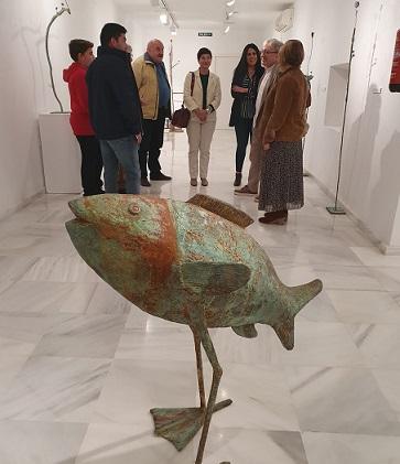 """La exposición """"La nube roja"""" de Blas Miras, hasta el 13 de diciembre en la Casa de los Duendes"""
