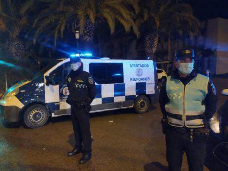 La Policía Local de Puerto Lumbreras impone una treintena de denuncias por las limitaciones de circulación ante el Estado de Alarma