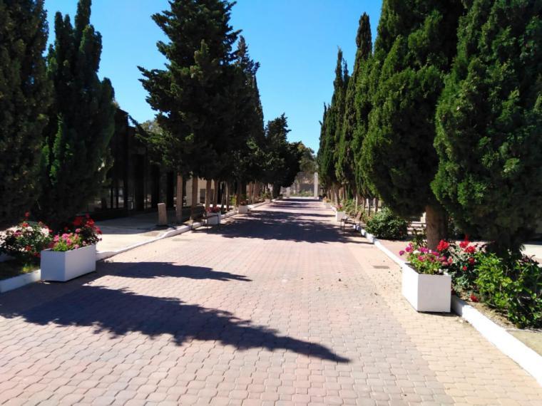 El cementerio municipal abrirá mañana sus puertas con aforo limitado y medidas de seguridad obligatorias