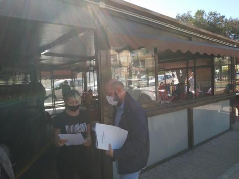 El Ayuntamiento de Puerto Lumbreras posibilita la ampliación de terrazas y cerramientos para apoyar a la hostelería del municipio ante los efectos de la pandemia