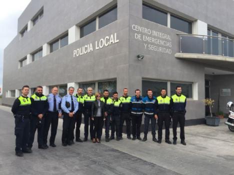 Detenido en Lorca un varón de origen georgiano por falsedad documental gracias a la colaboración de policía nacional y municipal