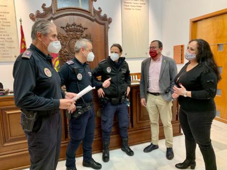 El Ayuntamiento de Lorca pone en marcha, a través de Policía Local, una unidad especializada para el seguimiento y la protección de víctimas de violencia de género