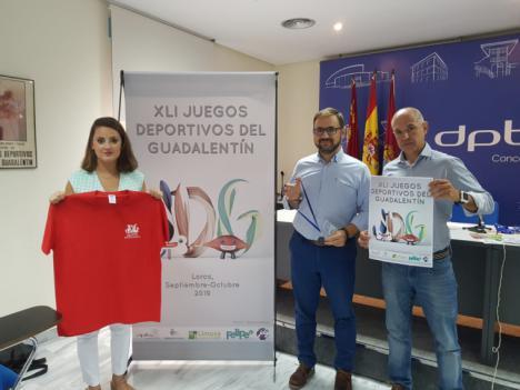 La 41 edición de los Juegos Deportivos del Guadalentín incorpora la figura del embajador