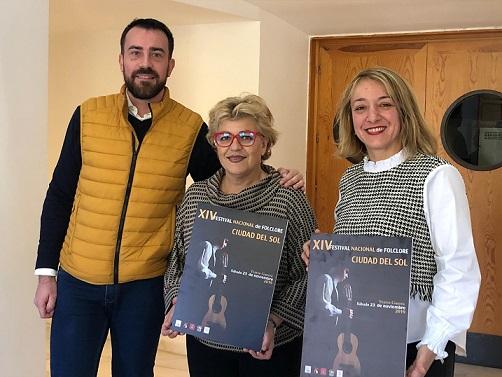 """El XIV Festival Nacional de Folklore """"Ciudad del Sol"""" reunirá este próximo sábado, 23 de noviembre, en Lorca, a grupos de Canarias, Cantabria y al anfitrión, el Virgen de las Huertas"""