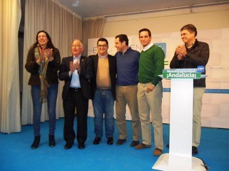 Juan Pedro Pérez Quiles, candidato a Alcalde del PP, dice que es desfavorable para Albox tener a Juanma Moreno como presidente de la Junta