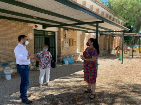 El Ayuntamiento de Lorca recuperará el local de Campillo conocido como 'El Bache' para convertirlo en un lugar de reunión de los colectivos de la pedanía