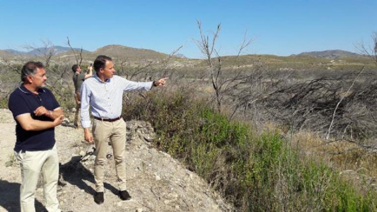 Fulgencio Gil reclama la unión de todos los partidos contra la decisión arbitraria y unilateral del gobierno socialista de cerrar el trasvase Tajo-Segura a los agricultores