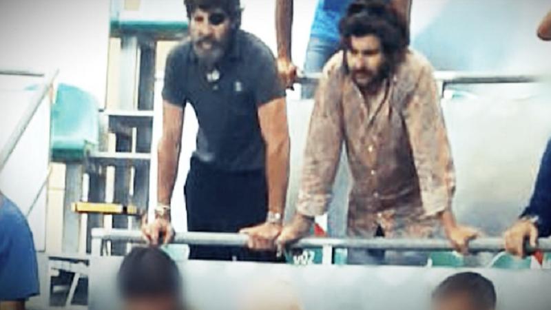 Padilla, Morante y López Simón en una pelea de gallos clandestina durante el estado de alarma