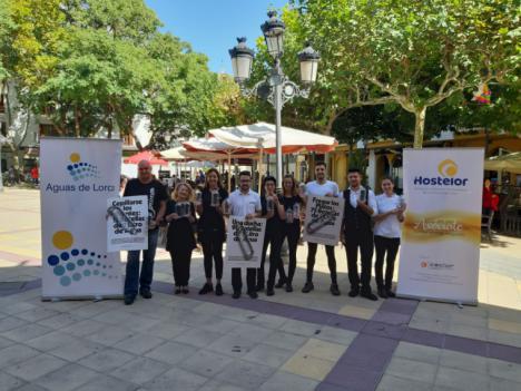 El Ayuntamiento, Aguas de Lorca y Hostelor promocionarán el consumo de agua del grifo en los establecimientos hosteleros