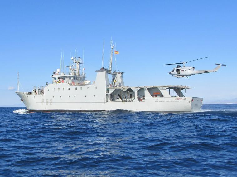 El patrullero de altura ''Alborán'' finaliza su quinta campaña de vigilancia pesquera del año