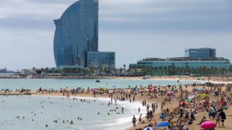 La armada explosionará hoy lunes la bomba de la Barceloneta