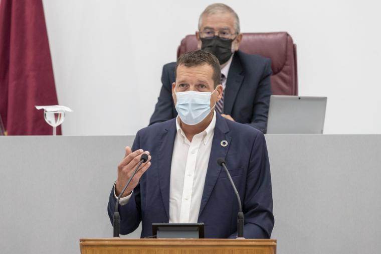 El PSRM critica que el PP rompa el consenso de la Ley del Mar Menor para proteger a los que están contaminando la laguna