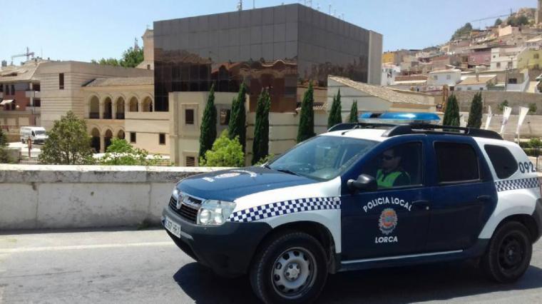 La Policía Local de Lorca detiene a un individuo como presunto autor del robo de un vehículo en Almendricos