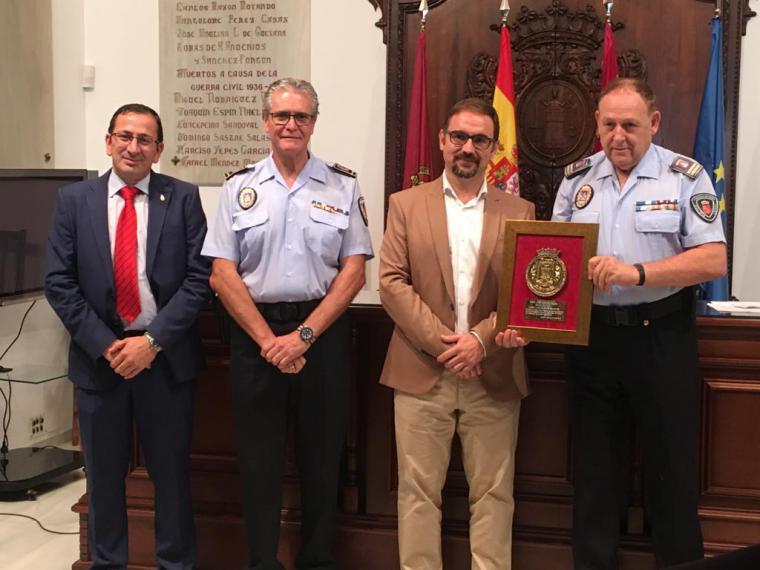 José Antonio Sansegundo Gálvez toma posesión como nuevo subinspector jefe de la Policía Local de Lorca