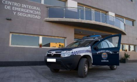 La Policía Local de Lorca detiene a una persona por un presunto delito contra la Salud Pública en la modalidad de tráfico de drogas