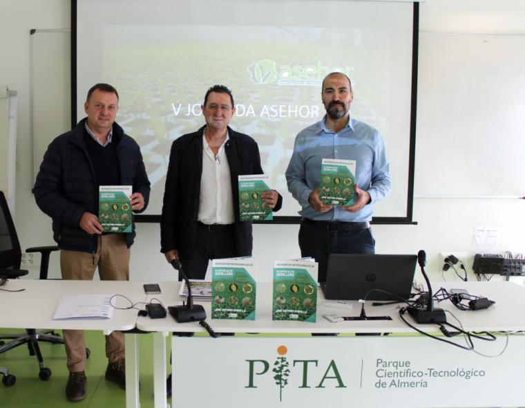Asehor presenta en el PITA su primera publicación científica