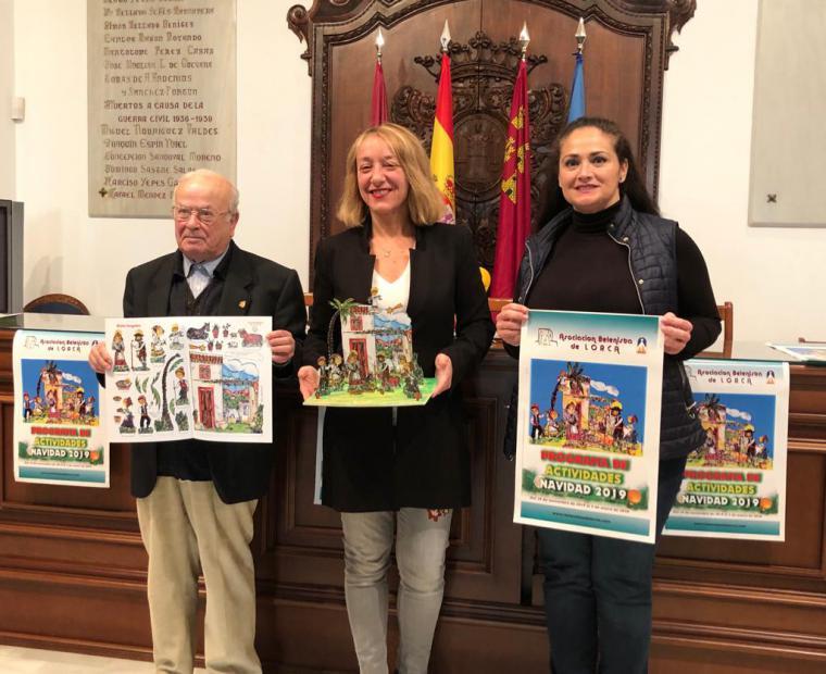 La Navidad llegará a nuestra ciudad este próximo viernes, 29 de noviembre, con el Pregón organizado por la Asociación Belenista de Lorca en la iglesia de San Patricio