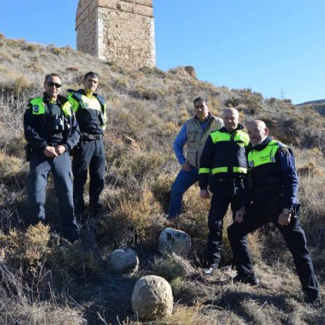 Encontrados cuatro proyectiles medievales de catapulta en Alcalá La Vieja