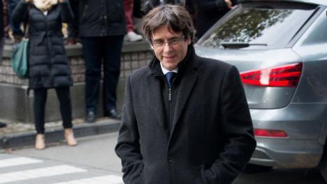 Puigdemont pone condiciones para entregarse a la justicia