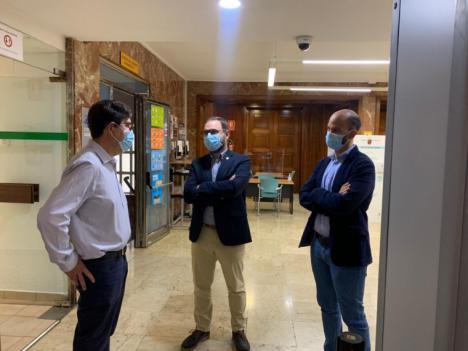 La Consejería de Salud de Murcia autoriza la vuelta a las clases presenciales en los colegios del casco urbano de Lorca y el 40 por ciento de ocupación en el interior de bares y restaurantes