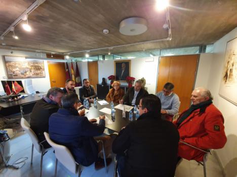 Los presidentes de las cofradías y el alcalde de Lorca acuerdan por unanimidad esperar unos meses para adoptar una decisión sobre la celebración de nuestros desfiles bíblico-pasionales