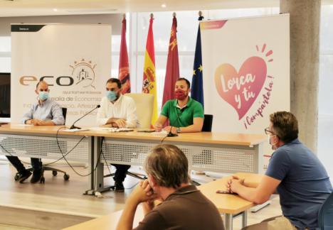 El Ayuntamiento de Lorca reúne a los agentes económicos del municipio para detallarles las medidas adoptadas y consensuar propuestas