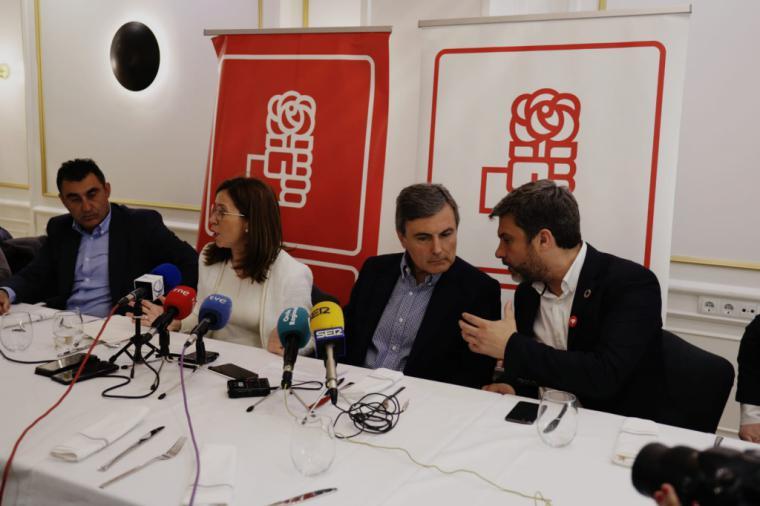 """Pedro Saura: """"El PSOE es el único partido que garantiza modernidad, justicia social, moderación y convivencia"""""""