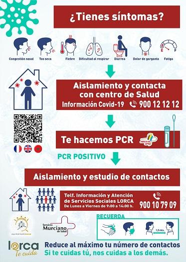 El Ayuntamiento de Lorca pone en marcha la ambiciosa campaña informativa 'Lorca te Cuida' para frenar la cadena de contagios por Covid19