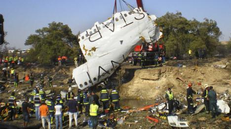 Un expiloto acusa a Spanair de haber puesto en servicio a un avión averiado