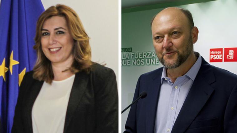 Susana Díaz promueve bajo cuerda el pulso a Pedro Sánchez
