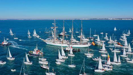 """El Buque Escuela de la Armada """"Juan Sebastián de Elcano"""" replicará la ruta de la expedición Magallanes-Elcano"""
