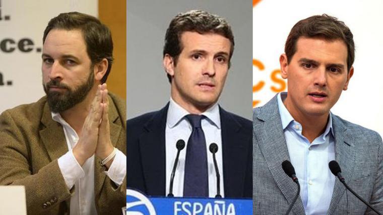Rivera lo tiene claro antes con PP y con Vox que con Susana Díaz