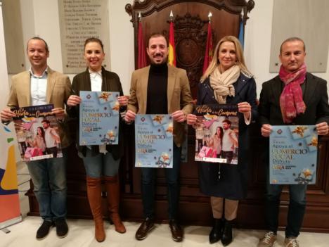 Hasta 100 comercios del casco urbano se suman, el viernes 27 de Diciembre, a la Shopping Night para promover las compras en Lorca